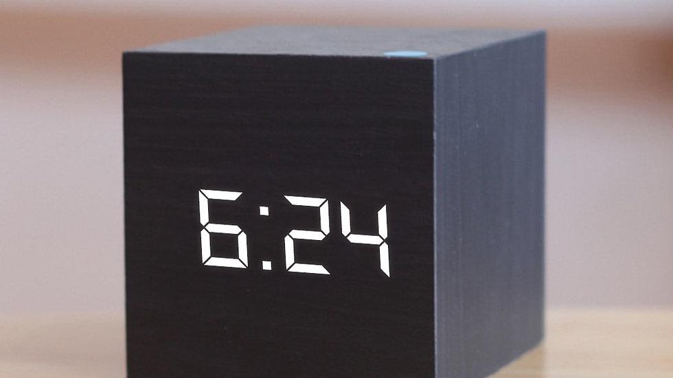 Digital Wooden LED Alarm Clock