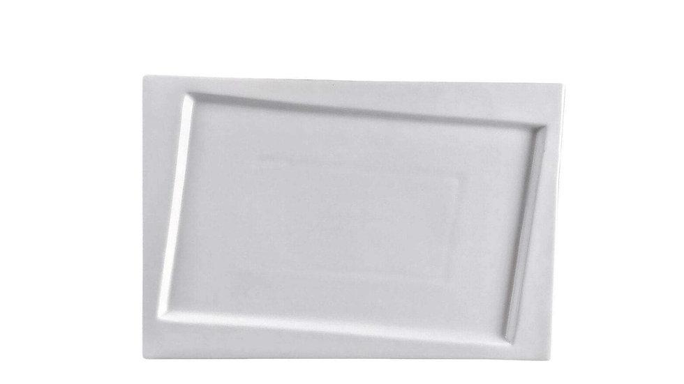 """Square Collection 13.4"""" (34 Cm) Porcelain Plate"""