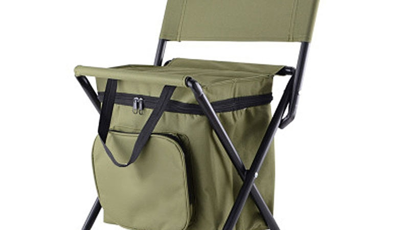 FISHING Chair With Attached Cooler Bag!