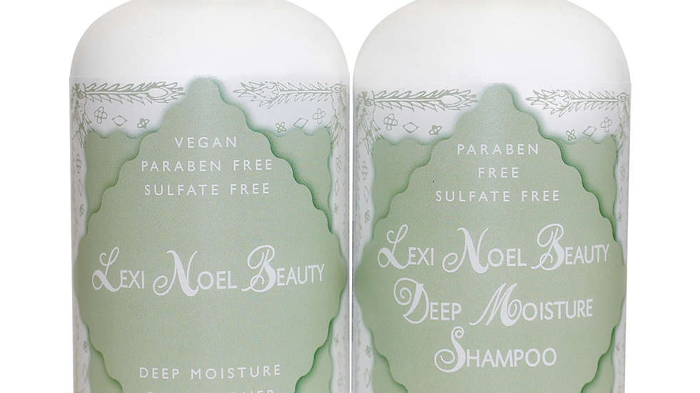Lexi Organic Vegan Shampoo and Conditioner Set
