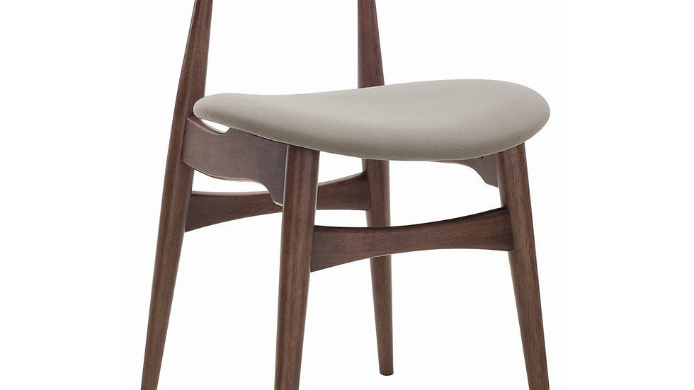 Tricia Dining Chair - Walnut & Barley