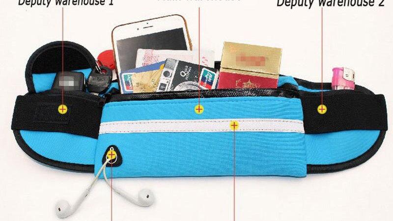 Waterproof and Sweat Proof Waist Bag! Unisex