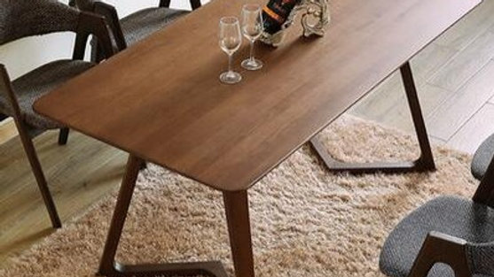 Solid Wood Dining Table  - 6 Seater