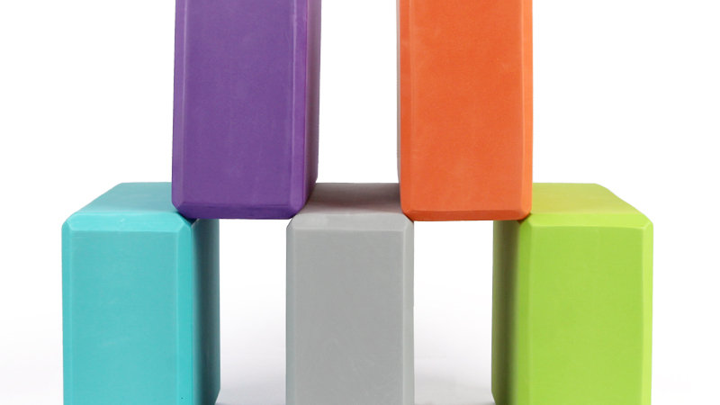 EVA Colorful Foam Yoga Blocks