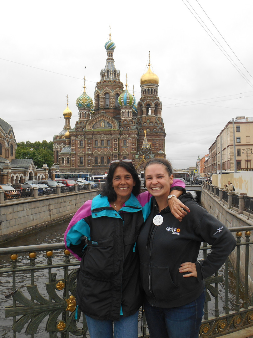 Mother-Daughter Cruise in Russia!