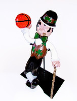 Lucky the Celtic Mascot