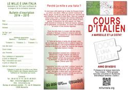 VOLANTINO Mille e una Italia