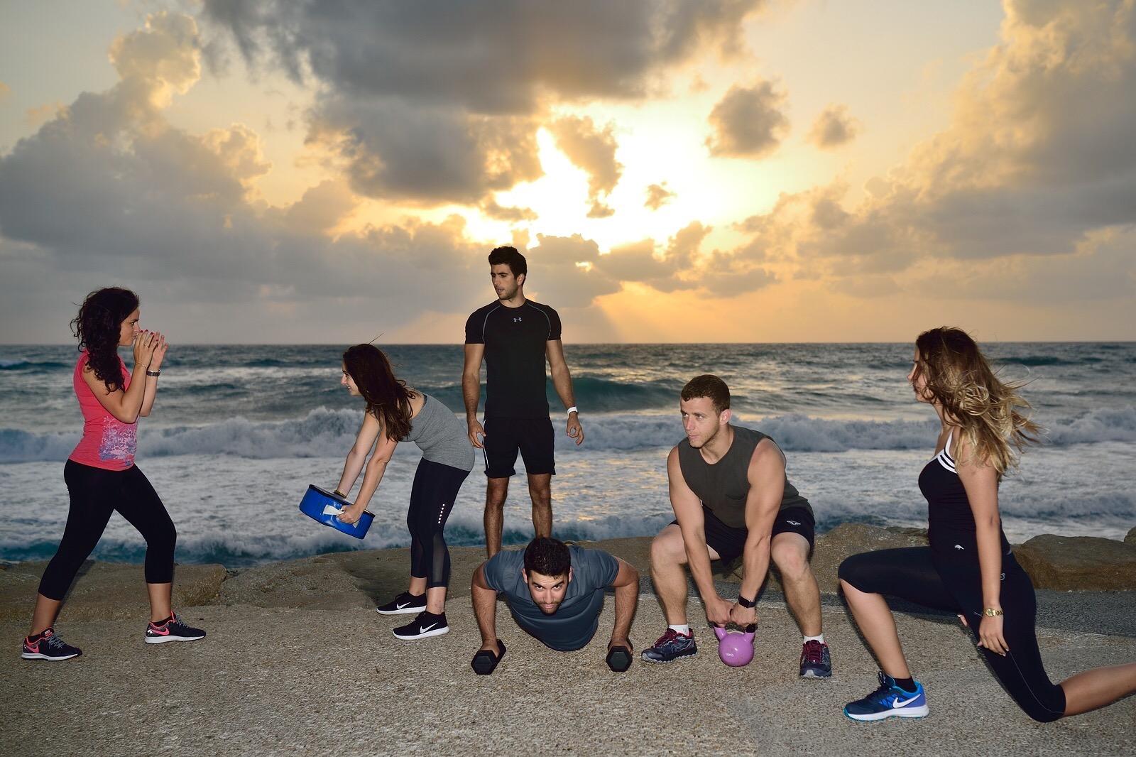 TRX Fitness Tel Aviv Oren Mellul