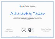 Google Certified Digital Marketing Manager