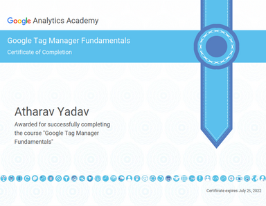 Google Tag Fundamentals Certification