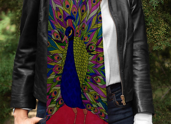 Indian Peacock Artwork