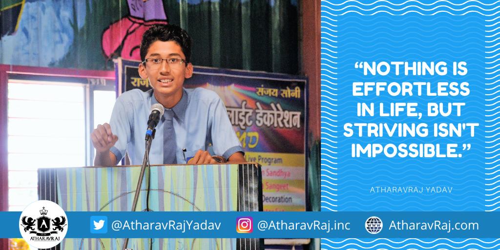 AtharavRaj Yadav Quotes
