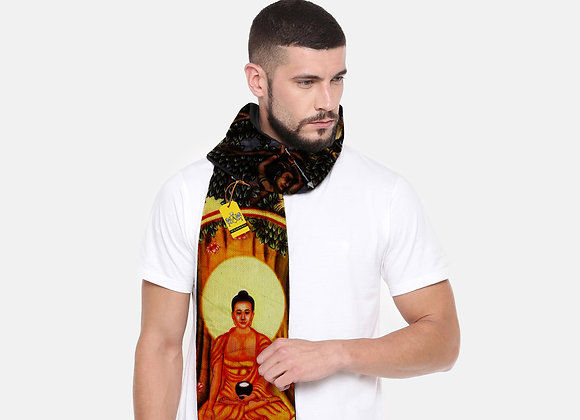 Siddhartha Artwork on Scarf