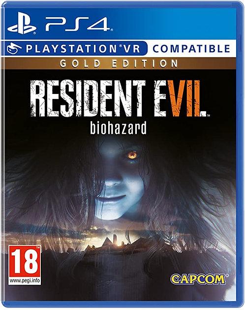 Resident Evil 7 GOLD PS4