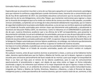 Comunicado 09/28
