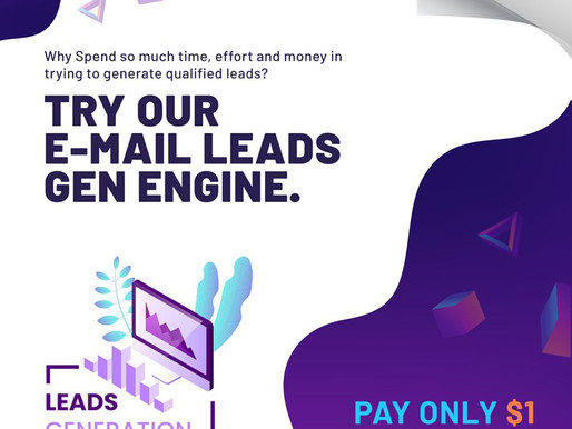 Why spend so much time, effort and money in trying to generate qualified leads?