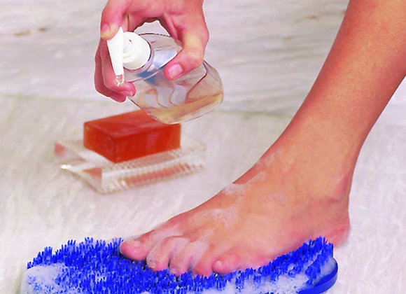 Soapy Soles Foot Scrubber + Massager