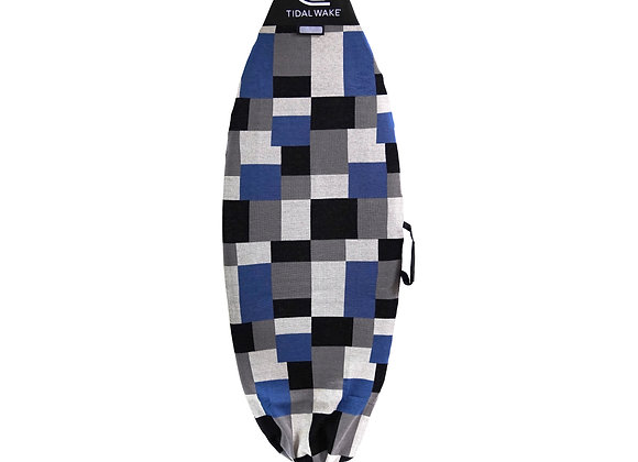 Tidal Wake TAG-IT Round Nose Surf & Wake Sock w/ Handle - Colorblox