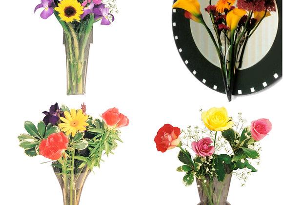 Window Vase Bouquet Collection - 4 Unique Vase Styles!