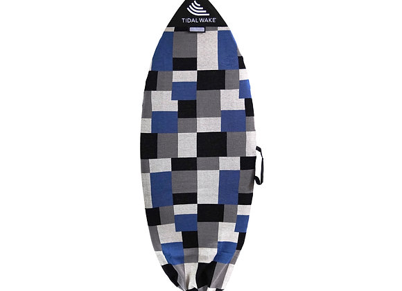 Tidal Wake TAG-IT Pointed Nose Surf & Wake Board Sock Bag with Handle -Colorblox