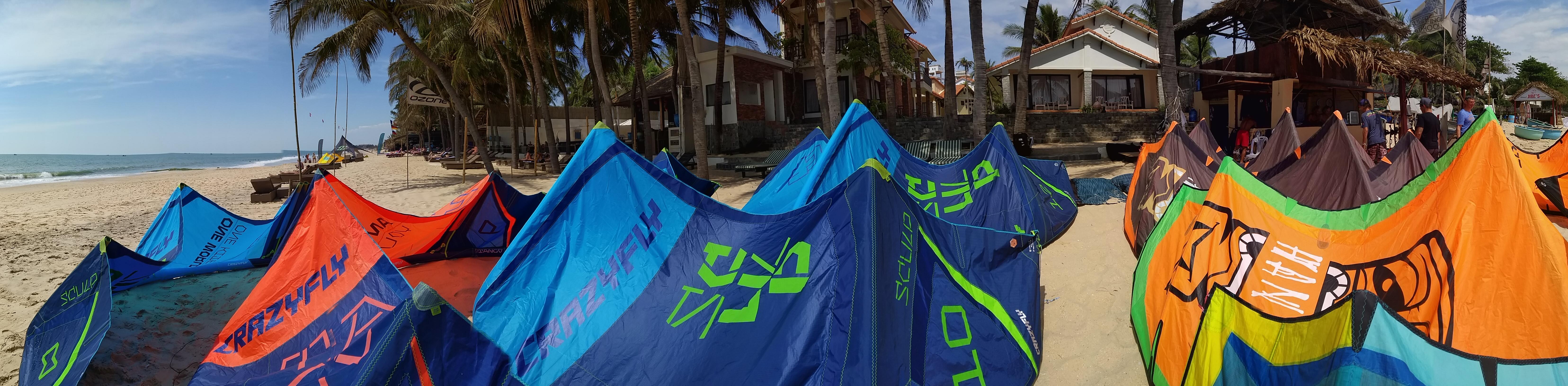Kiteboarding Vietnam
