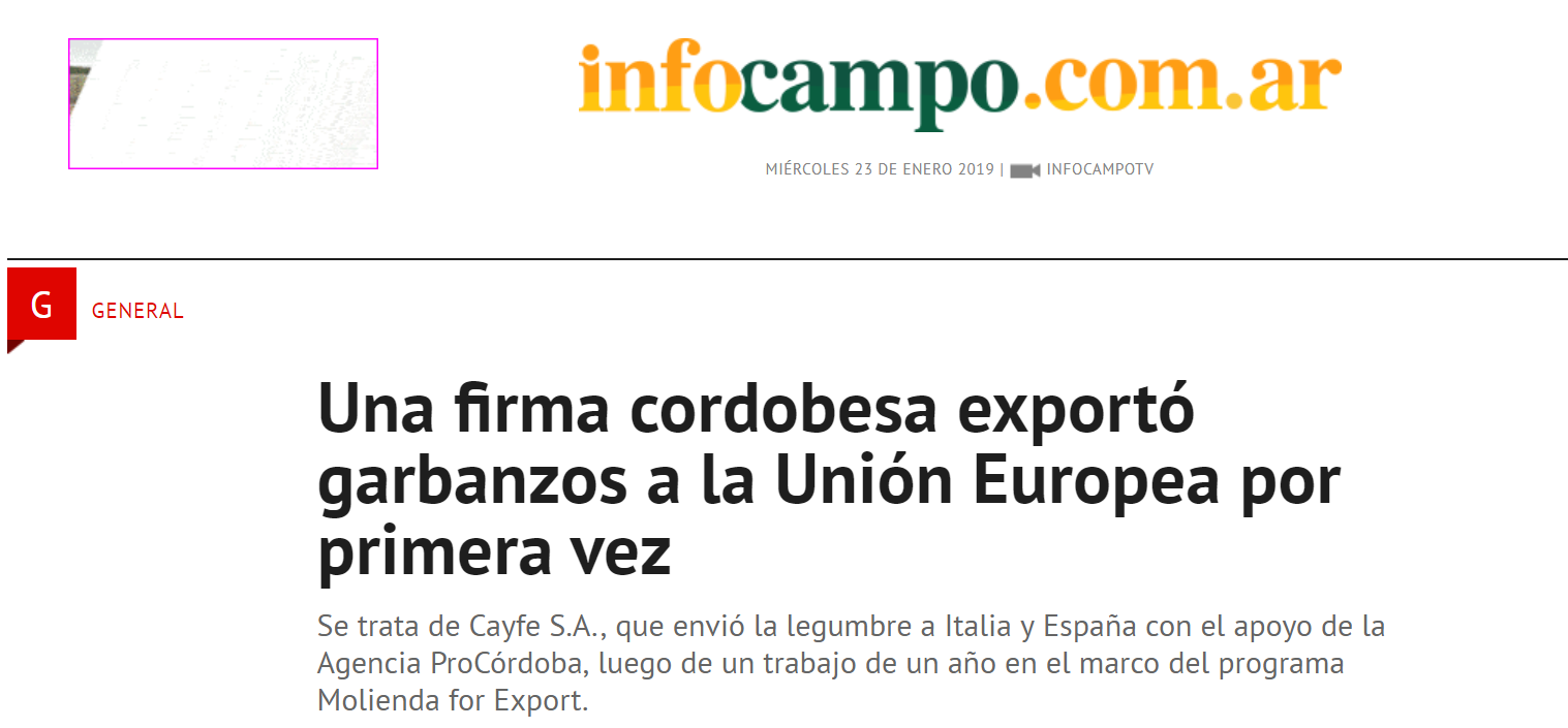 InfoCampo: