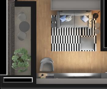 MINIAP SP com Home Office integrado