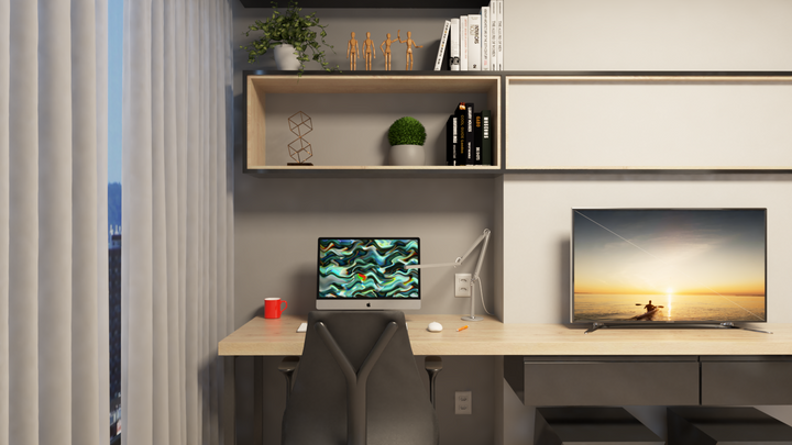 MINIAP CP com Home Office integrado