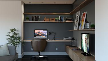 CASA IC com Home Office integrado