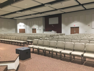 New Sanctuary at FBC Mahan Street