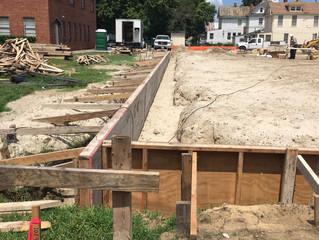 1st Baptist Mahan Street Foundation Pour