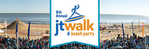 JT Walk and Beach Party