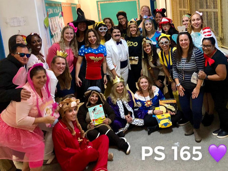 Character Day at 165