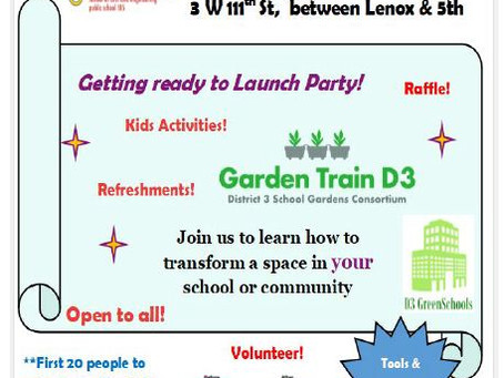 District 3 Garden Train  Event 10/19/19