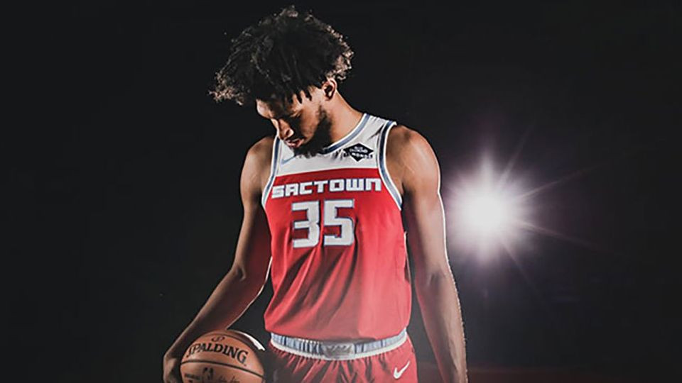 Marvin Bagley dawning the team's new City Edition uniform
