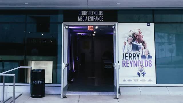 Jerry Reynolds Media Entrance at the Golden 1 Center