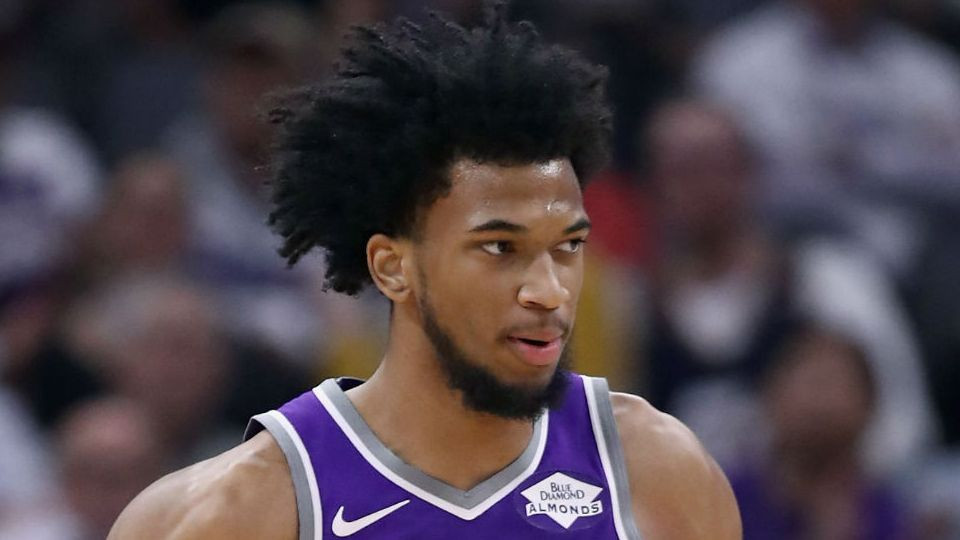 Marvin Bagley of the Sacramento Kings
