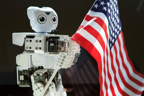 Patriotic Robot