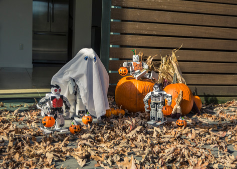 Robot Halloween