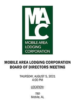 MALC Board Meeting Notice - 08052021 - L