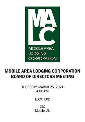 MALC Board Meeting Notice - 03252021 - L