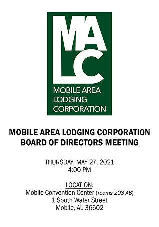 MALC Board Meeting Notice - 05272021 - U