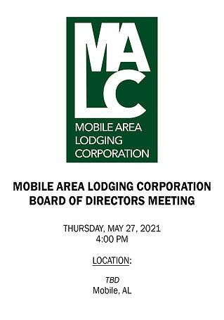 MALC Board Meeting Notice - 05272021 - L