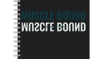 Muscle Bound blank gym journal