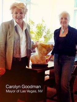 Mayor C. Goodman & Sharon