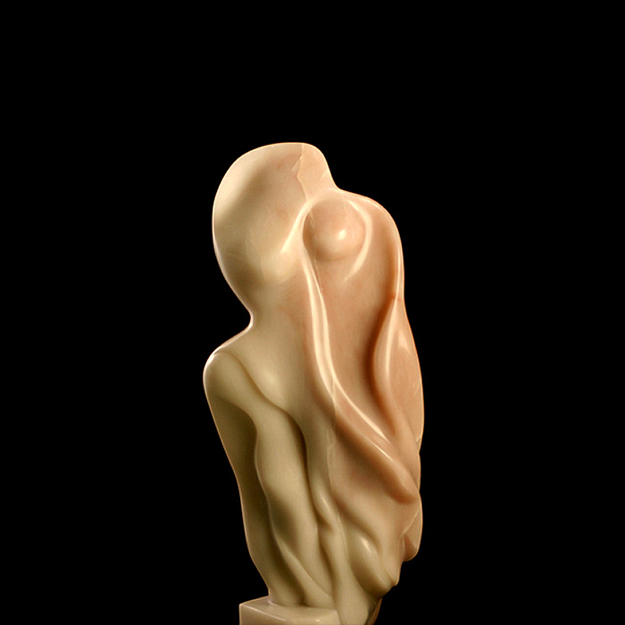Goddess-Of-Intention-8w-x-18h-x-4d-Alabaster-For-Sale