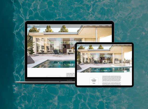 Real Estate Listing Pre-Designed Template