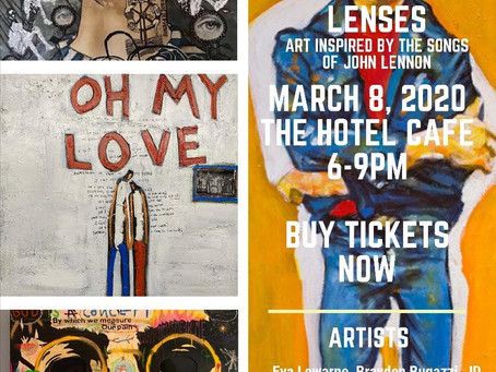 "Don't Miss ""Luminous Lenses"" Art Exhibit and Auction on March 8!"