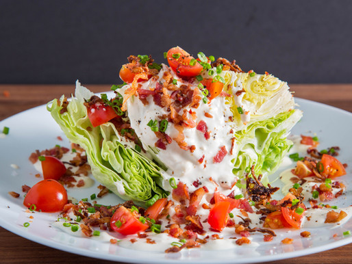 how ICEBERG LETTUCE got its name and how to make a WEDGE SALAD