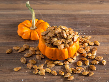 the TRICK to ROASTED PUMPKIN SEEDS and how to make them DELICIOUS